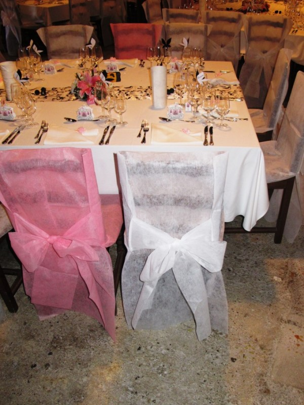 Grand Cellier - Tables décorées