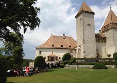Château de La Sarraz - Jardin