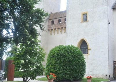 Château de La Sarraz - Cour intérieure