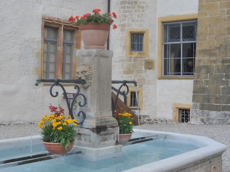 Fontaine de la cour intérieure