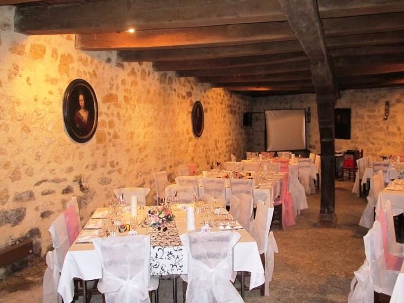 Grand Cellier - Salle décorée
