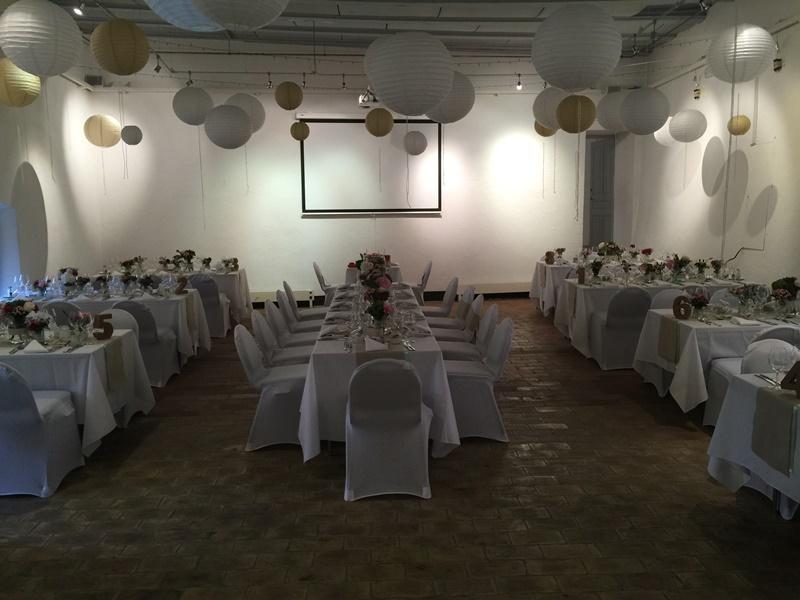 Salle de Mandrot- Banquet de mariage