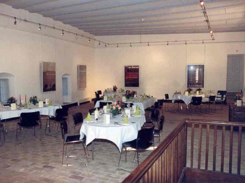Salle de Mandrot- Repas