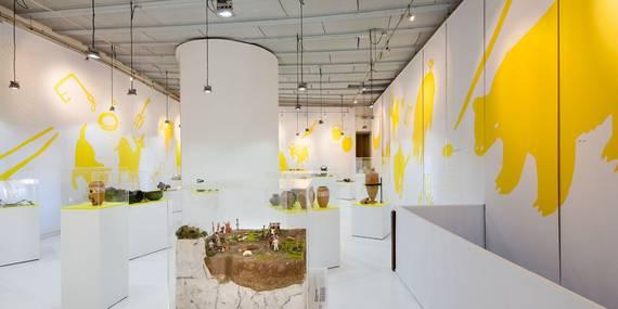 Salle de Mandrot- Exposition