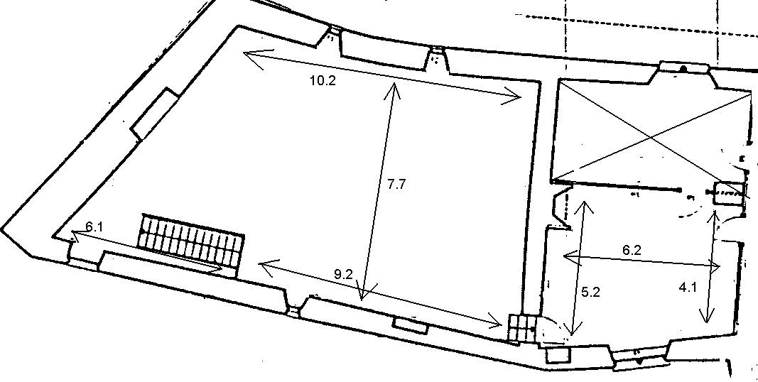 Plan de la Salle de Mandrot