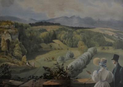 Peinture d'Hydeline de Gingins, 1830